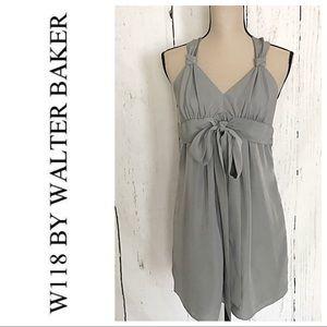 Walter By Walker Baker Gray Halter Dress